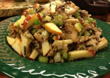 For Today's Potluck ~ Wild Rice, Chicken and Tarragon Salad