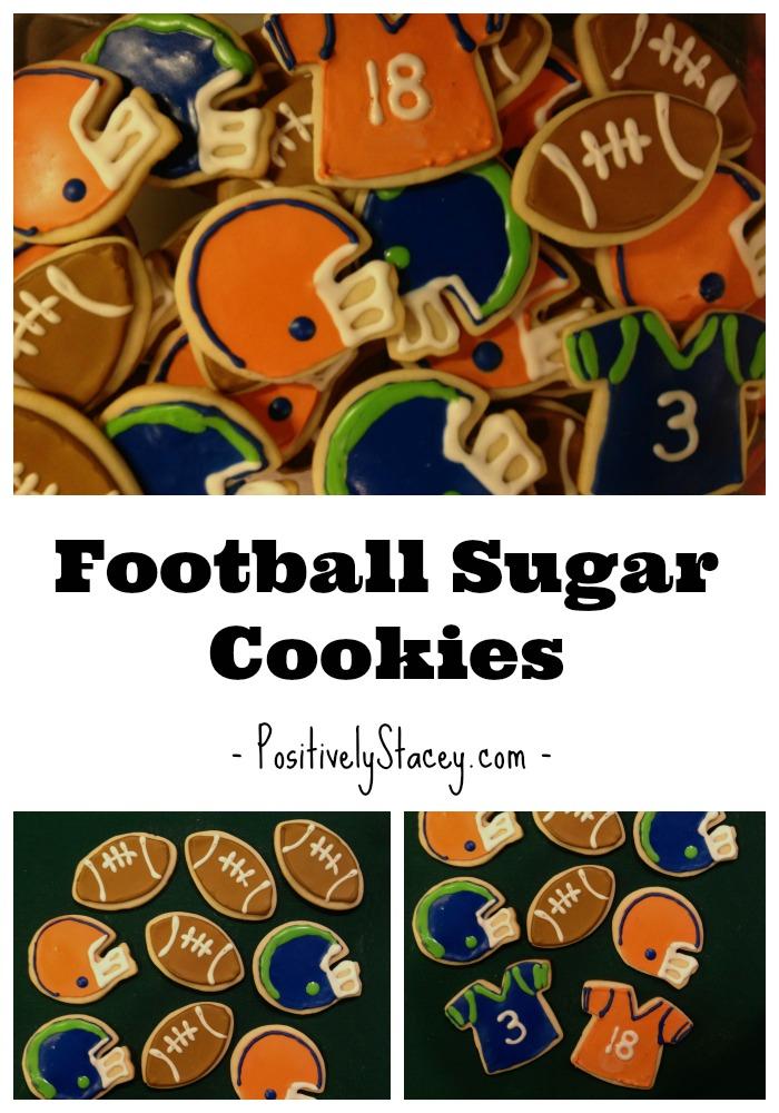 Ah-Mazing Football Sugar Cookies!