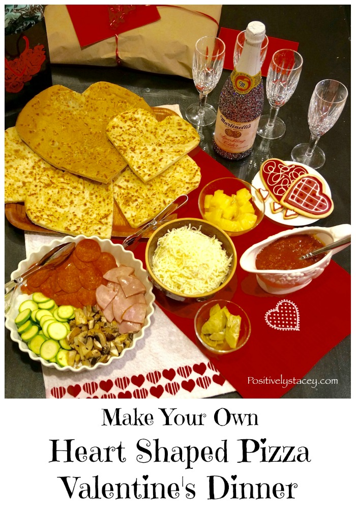 Make Super Easy Heart Shaped Pizzas for Dinner and let the fun begin!