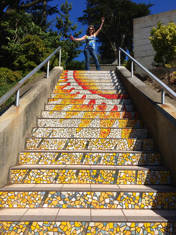 16th Avenue Tiled Steps in San Francisco