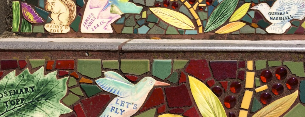 16th Avenue Tiled Steps ~ a Hidden Treasure in San Francisco