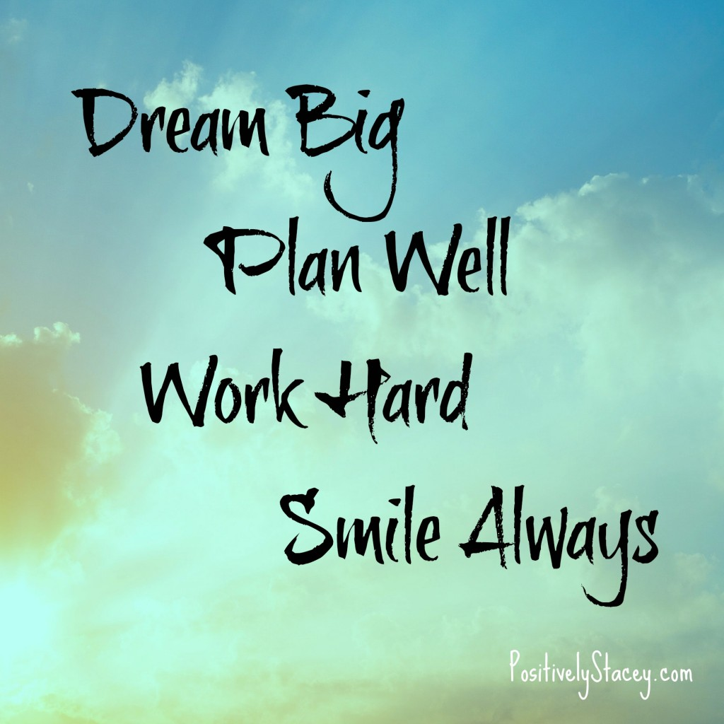 Dream Big Plan Well