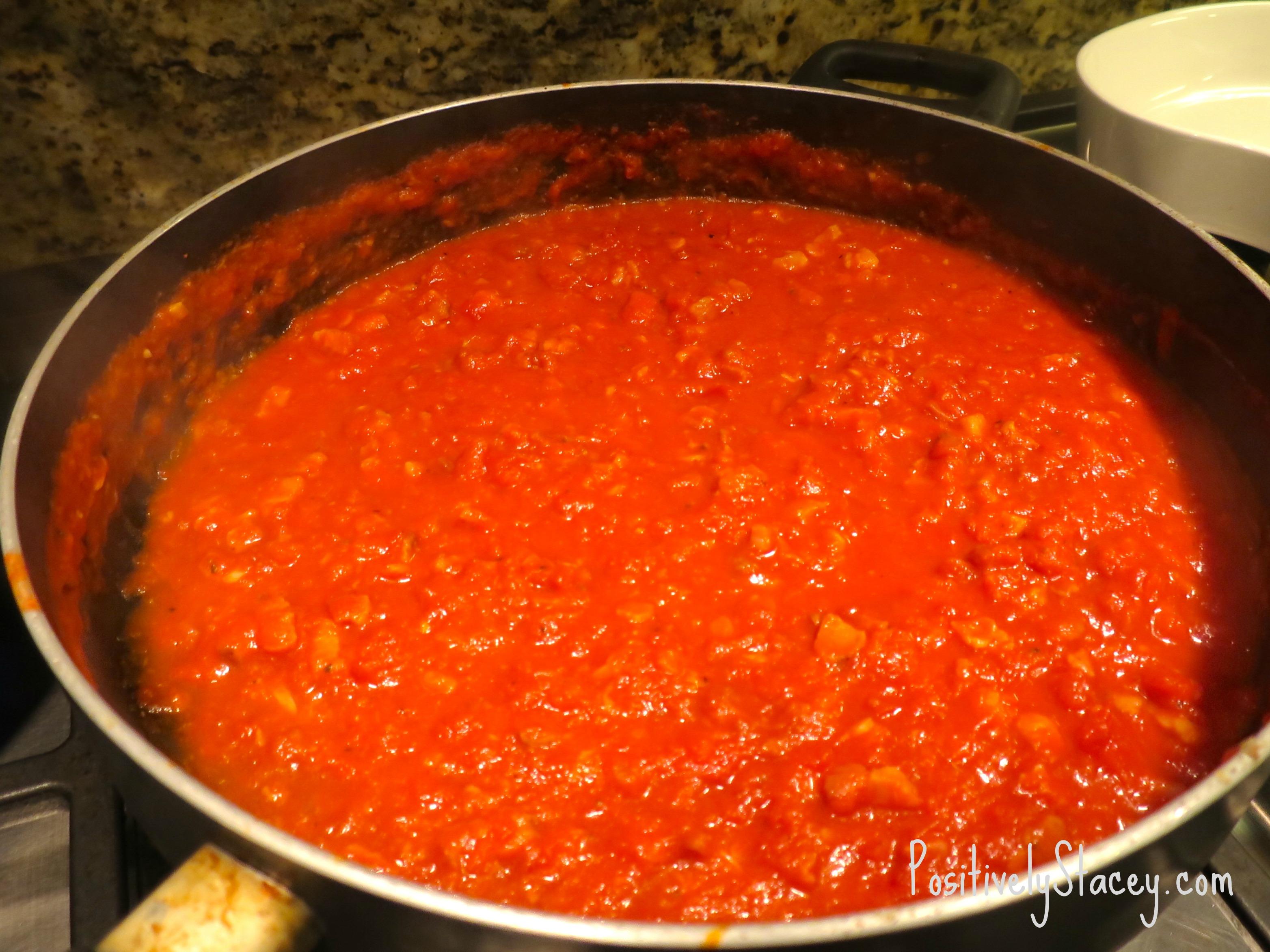 Pancetta Pasta Sauce