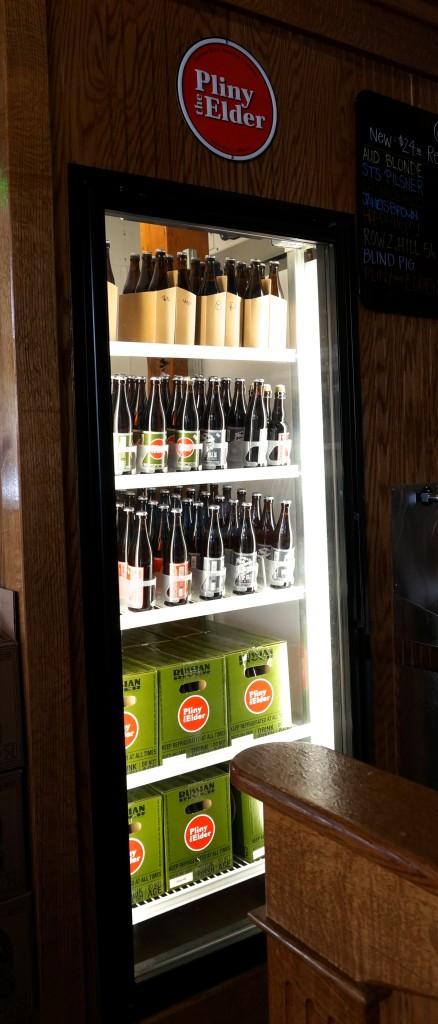 A refrigerator full of Pliny the Elder.