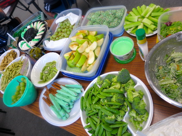 Classroom Potluck Ideas : A st patrick s day green potluck in the classroom