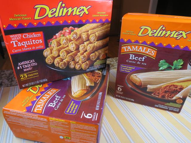 Delimex Easy Mexican Fiesta Dinner Menu