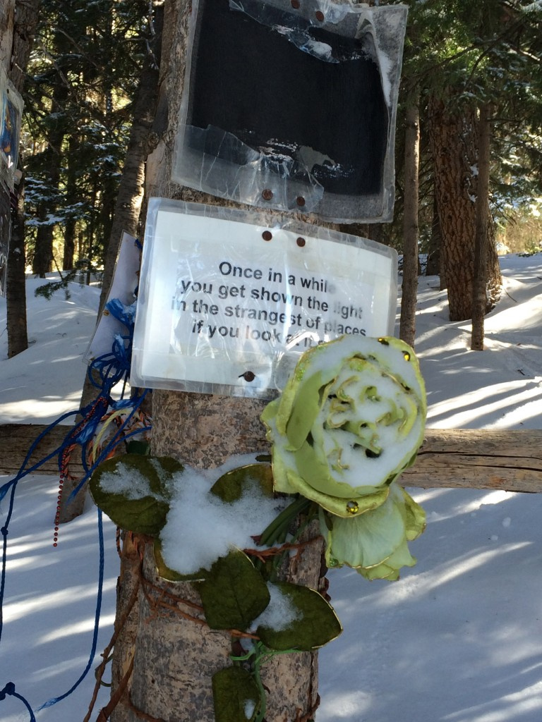 Jerry Garcia Shrine in Aspen