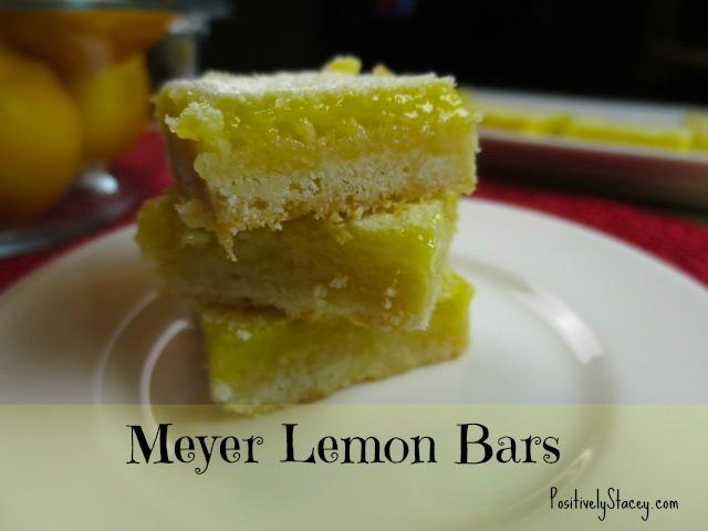 Meyer Lemon Bars Stack