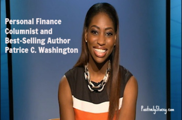 Patrice C. Washington‏, Personal Finance Columnist and Best-Selling Author