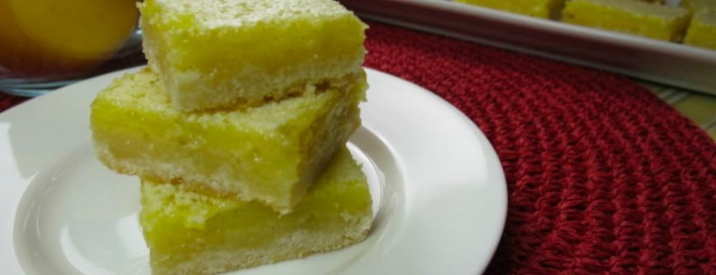Meyer Lemon Bars Recipe