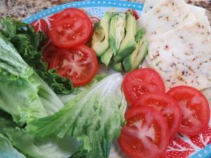 Chicken sandwich toppings
