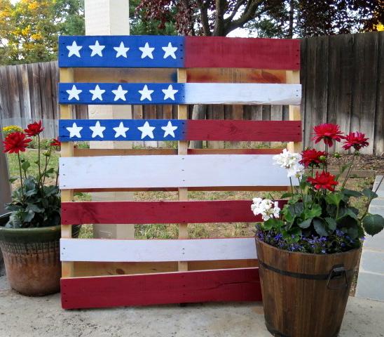 USA Pallet Flag