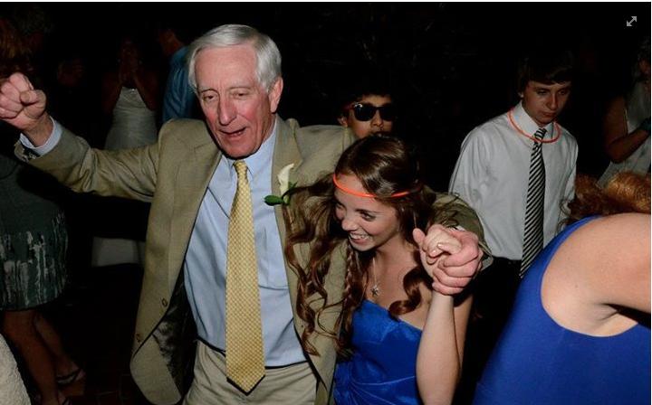 Papa dancing