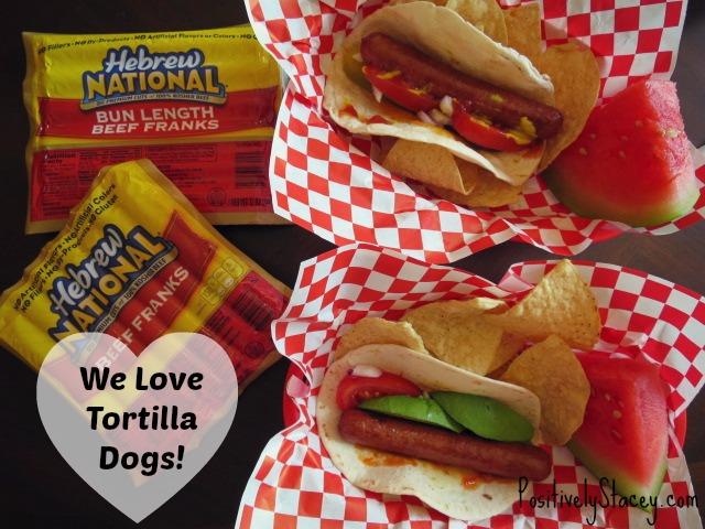 We Love Tortilla Dogs