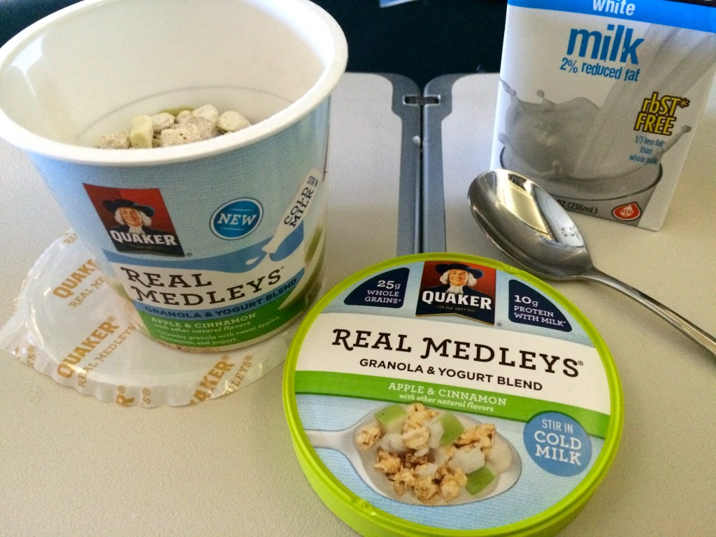 Quaker® Real Medleys® Yogurt Cups
