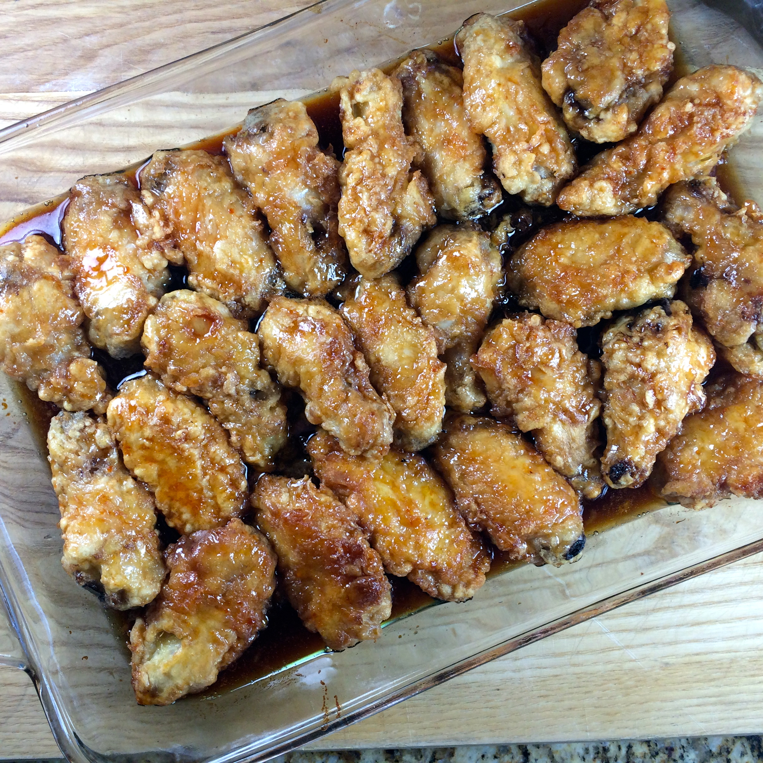 Tempura Chicken Wings