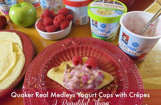 Quaker® Real Medleys® Yogurt Cups with Crêpes – A Beautiful Thing