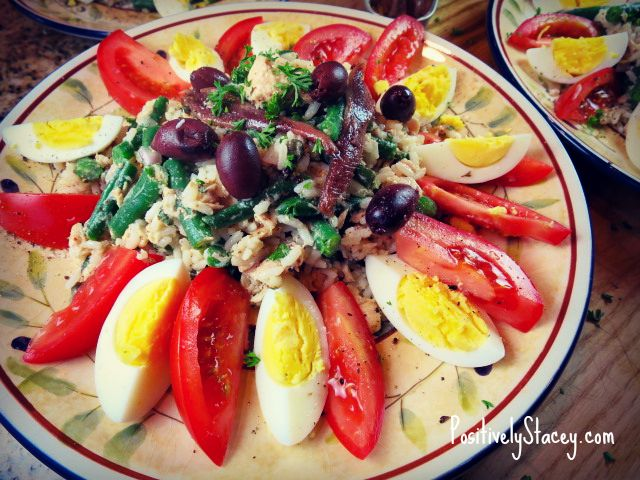 niçoise rice salad w filter