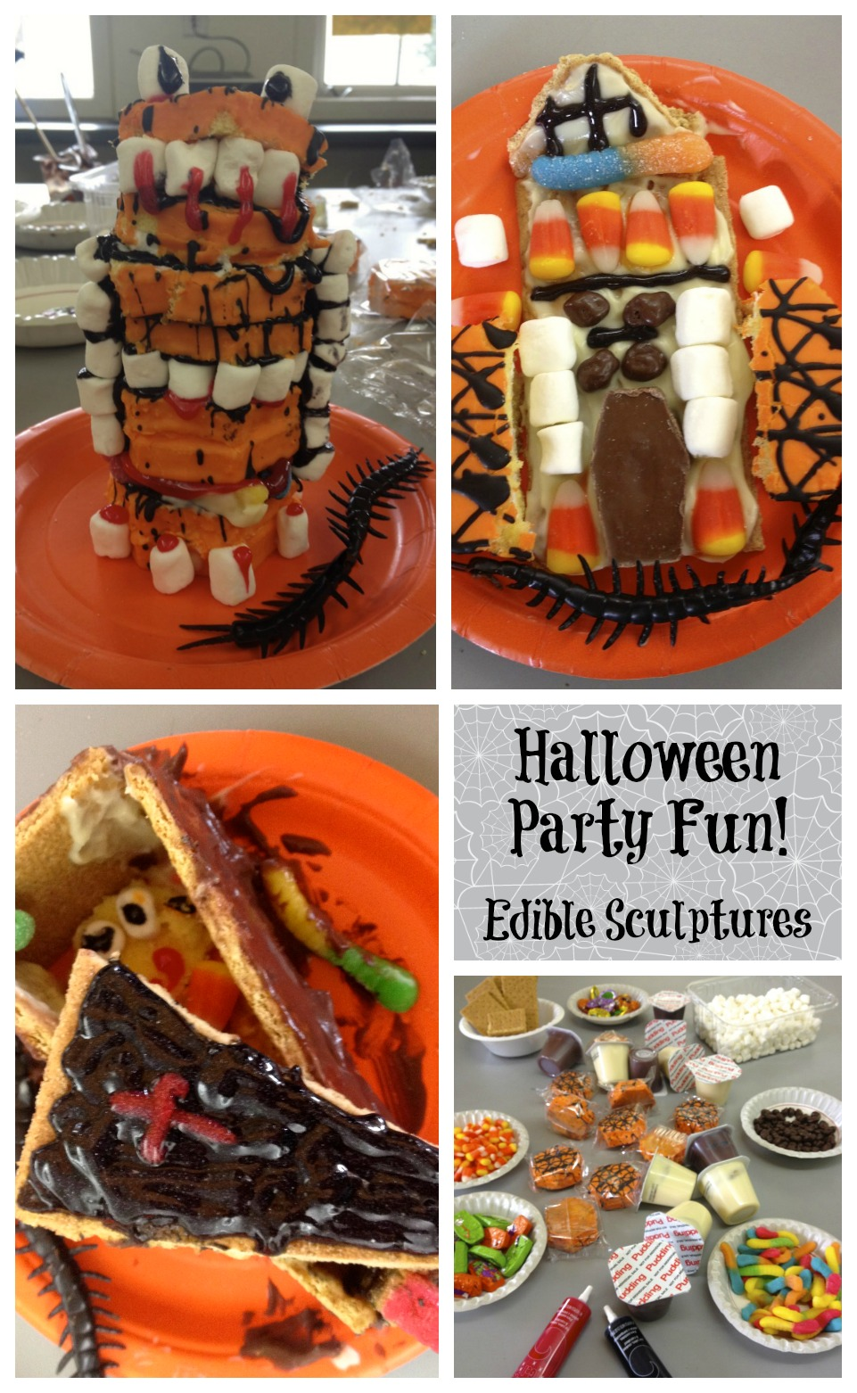 Halloween Party Fun - Edible Sculptures - Positively Stacey