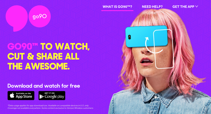 The Release of go90 – A new mobile video app