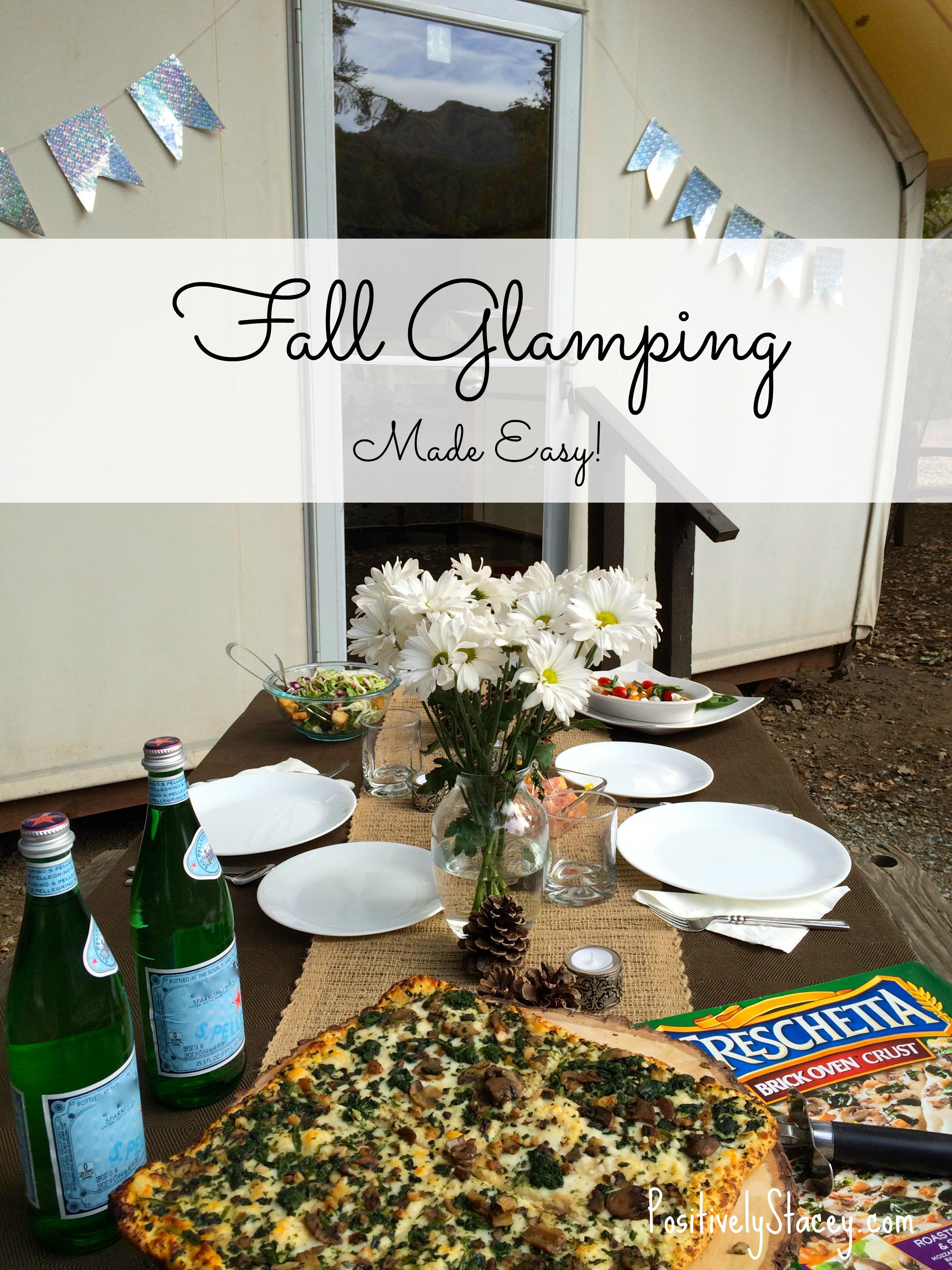 #FallGlamping Made Easy