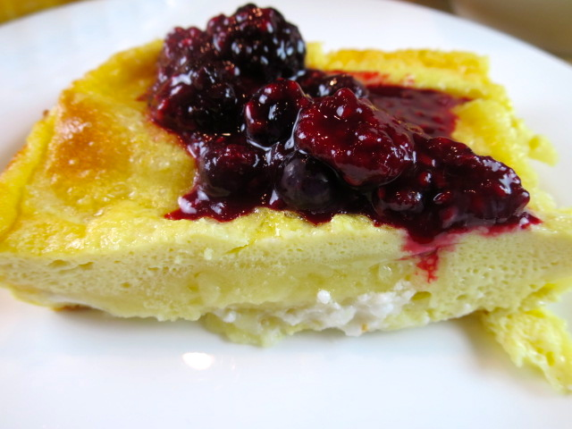 Cheese Blintz Soufflé Recipe