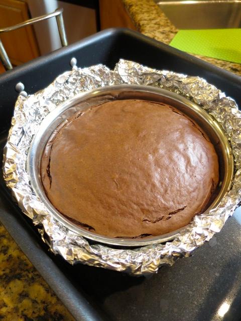Triple Chocolate Berry Cheesecake