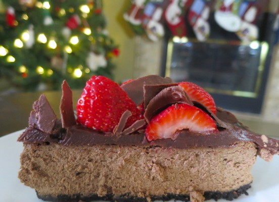Triple Chocolate Berry Cheesecake Recipe + $500 Giveaway! #SplendaHoliday