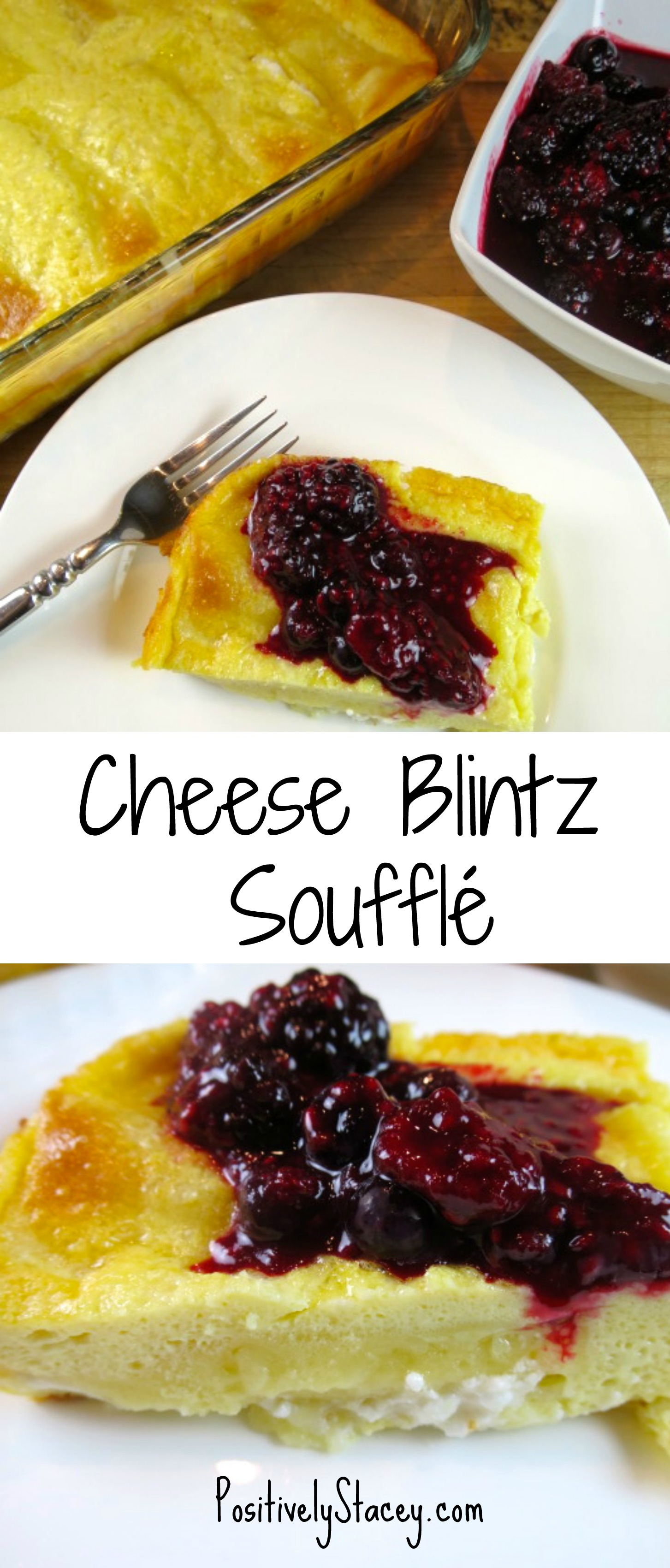 cheese blintz soufflé