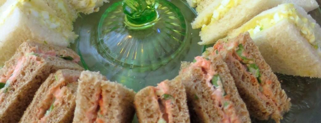 Smoked Salmon, Cucumber, and Watercress Tea Sandwich Recipe