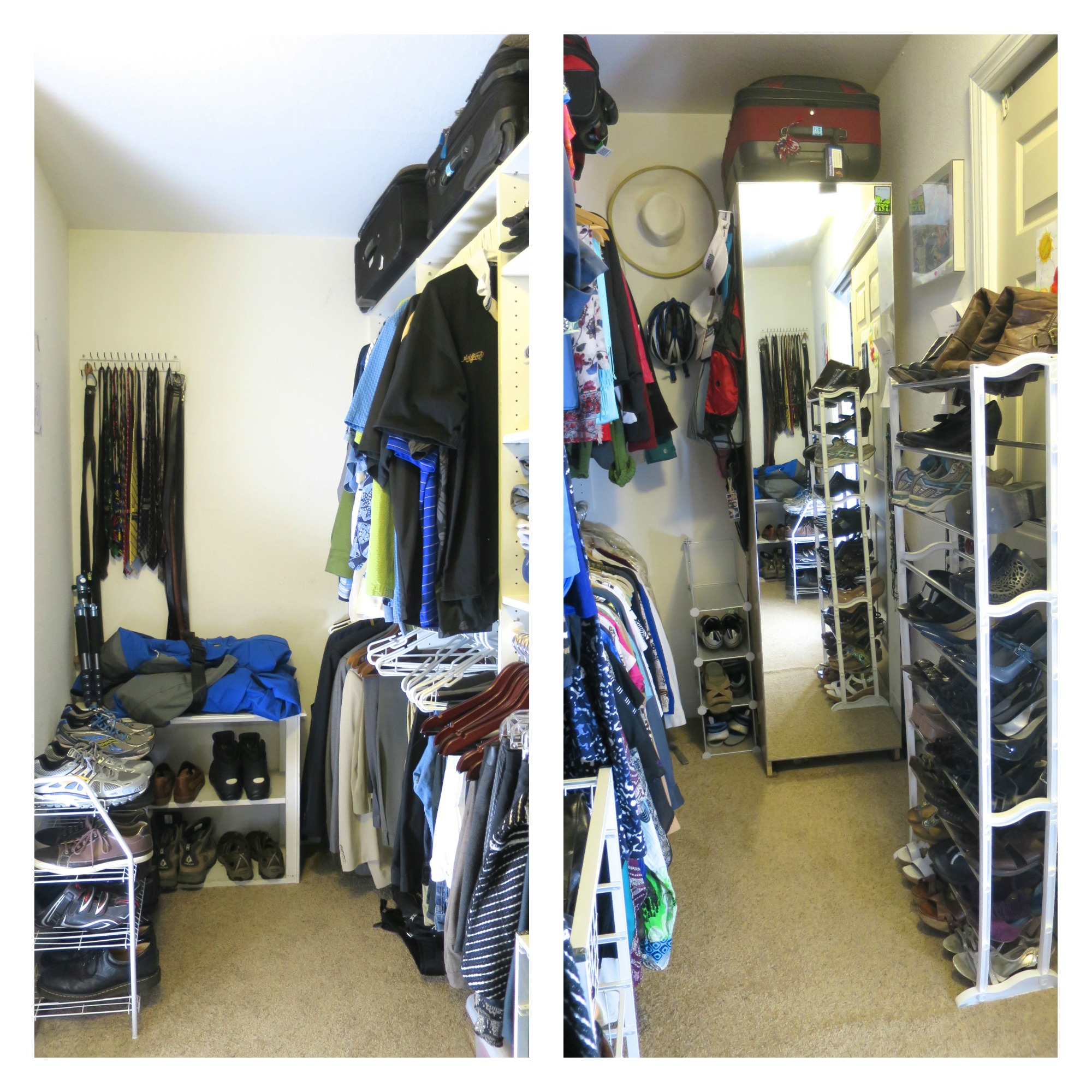 My Closet Re-Organization Ends