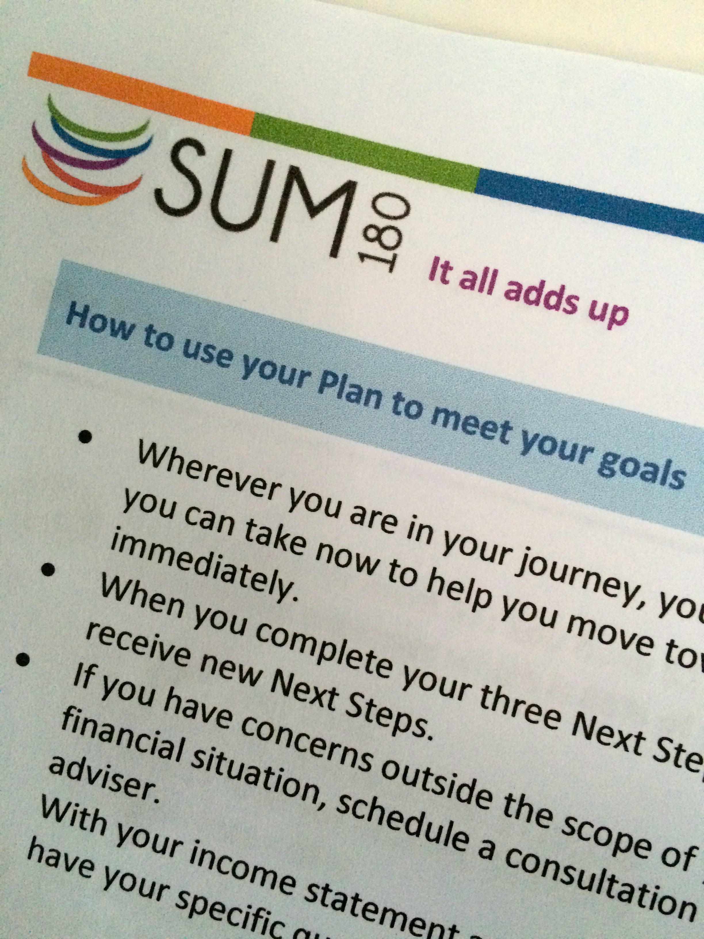 Financial Planning for a Better Future with SUM180