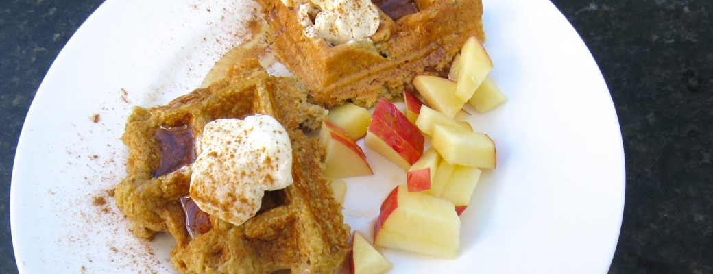 Apple Oat Waffles Recipe and A Giveway