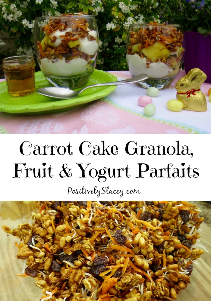 Cake With Fruit Yogurt : Carrot Cake Granola, Fruit & Yogurt Parfaits - Easter Blog ...