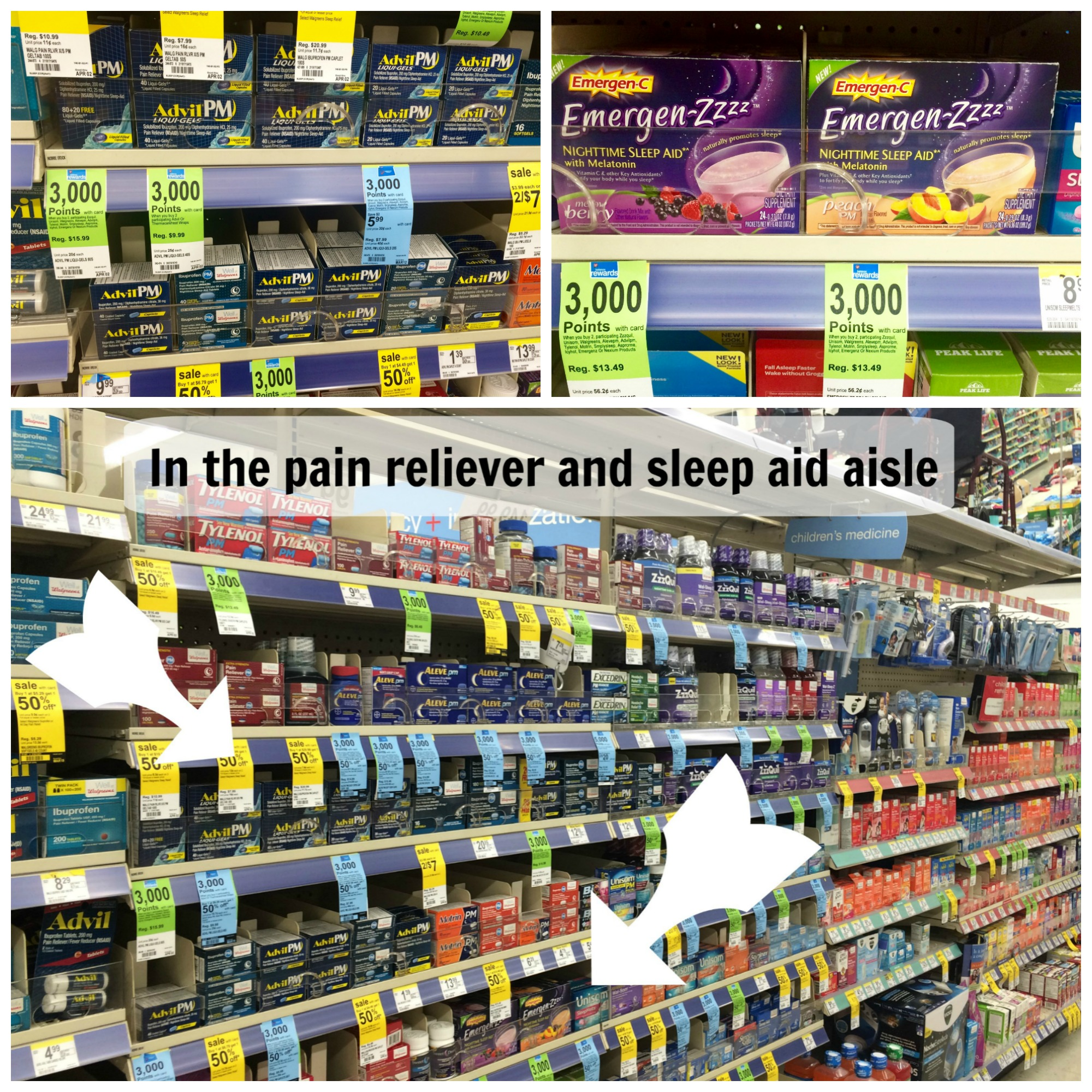 #FindRestEasy Walgreens Collage