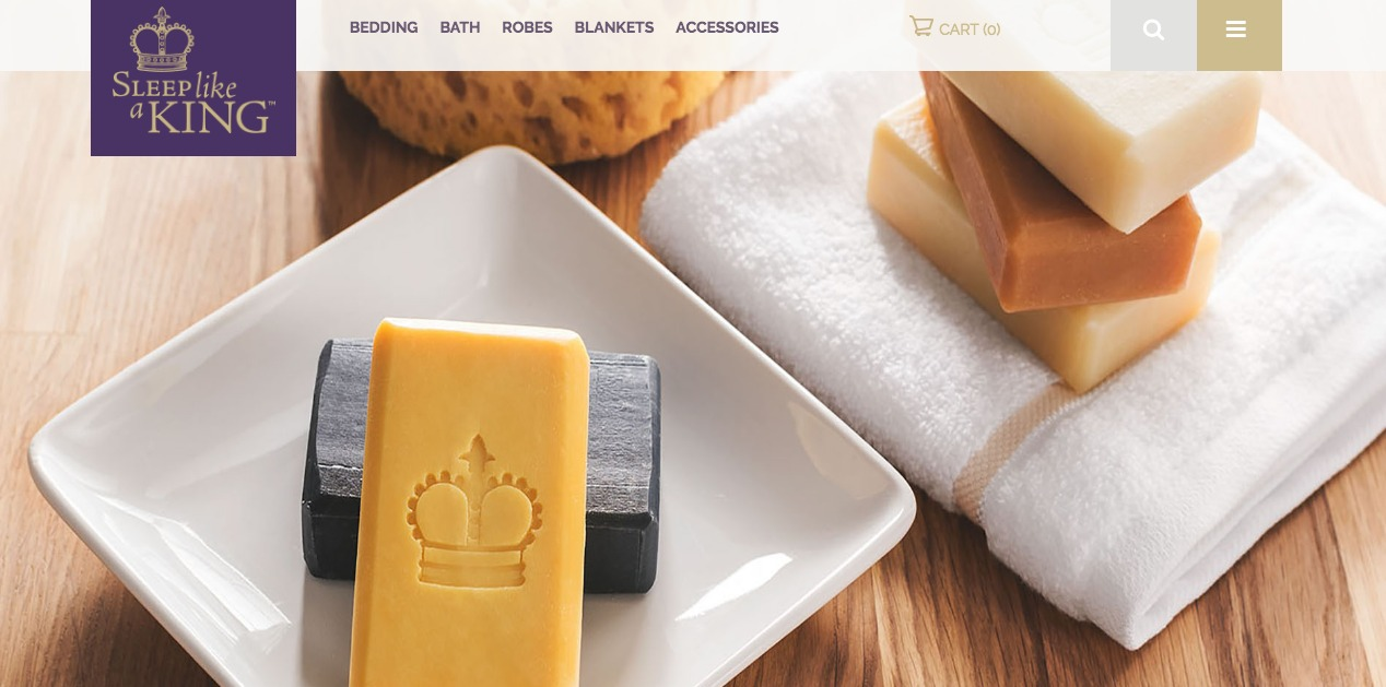 Sleep Like a King Soap