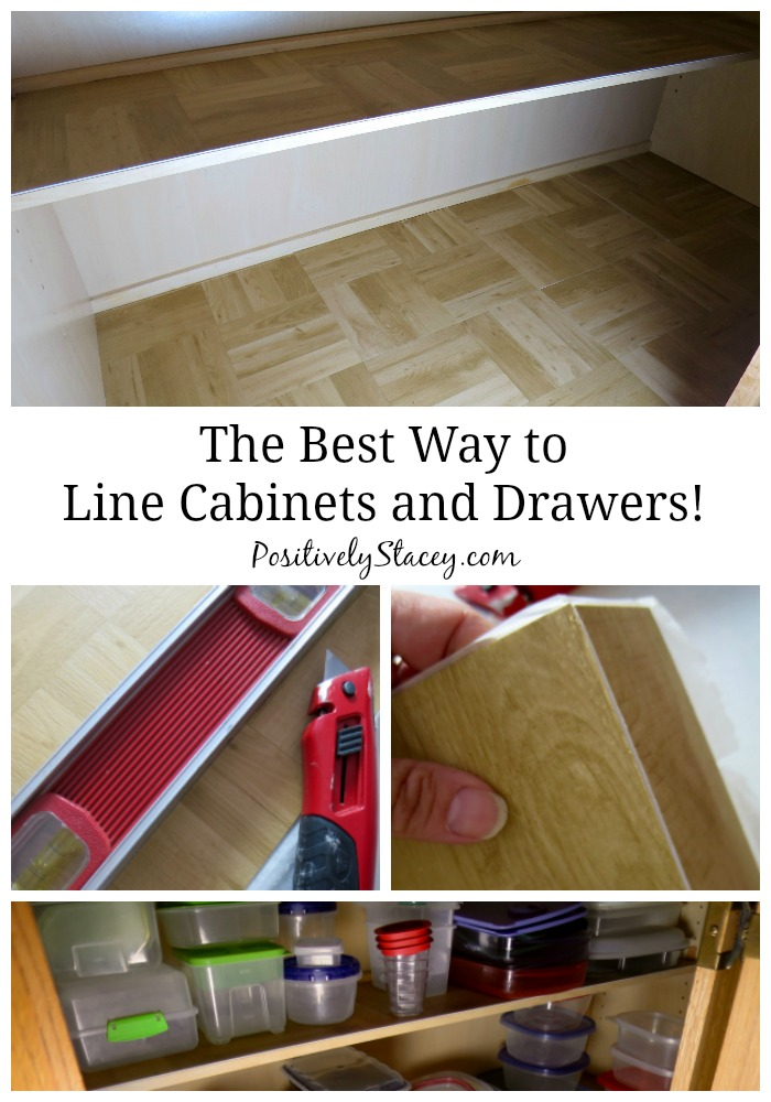 the best way to line kitchen cabinets positively stacey