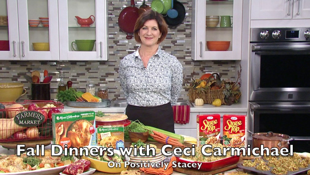 Easy Fall Dinners with Ceci Carmichael