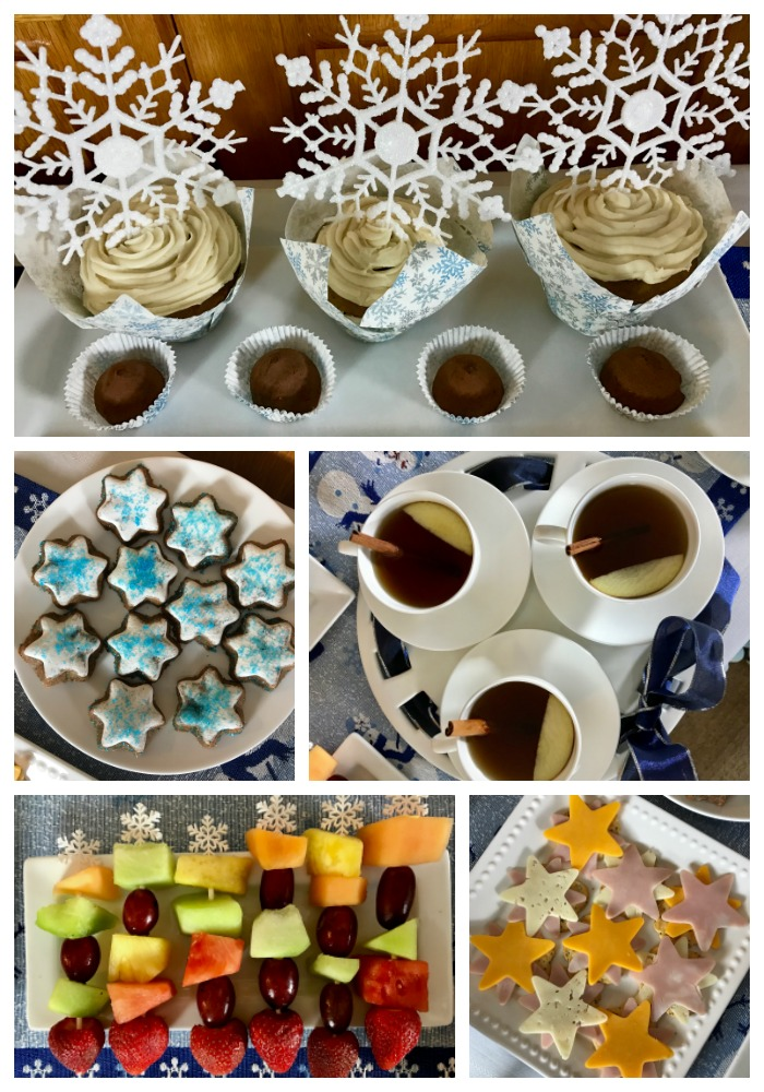 A Child's Winter Wonderland Tea Party
