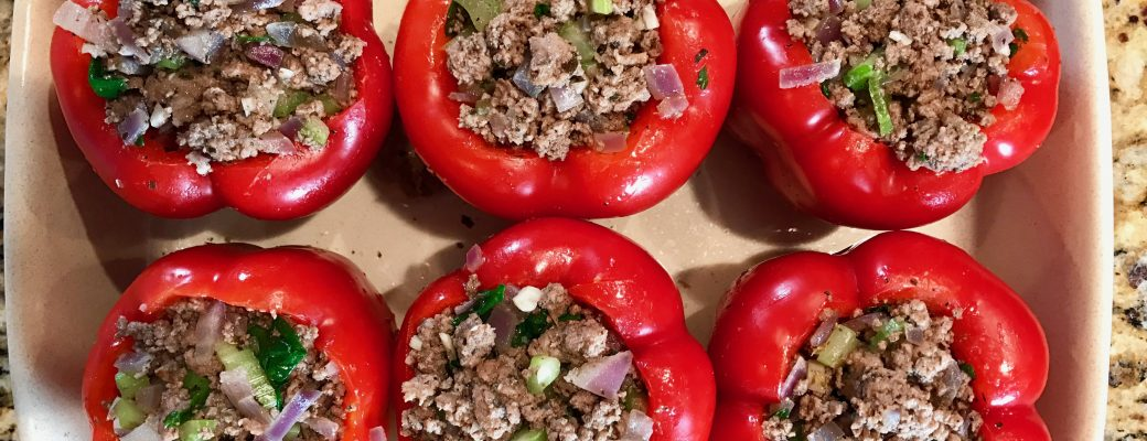 Stuffed Red Bell Pepper Recipe