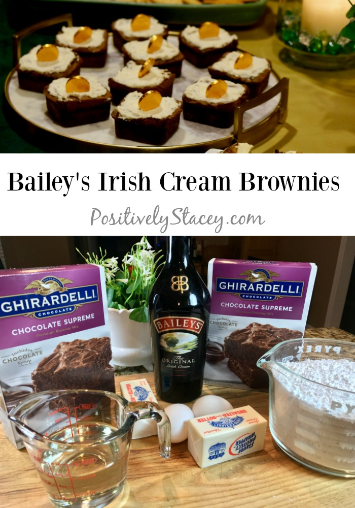 Bailey's Irish Cream Brownies Recipe