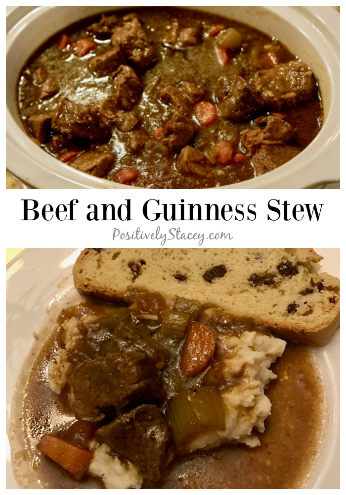 Beef and Guinness Stew Recipe - Positively Stacey