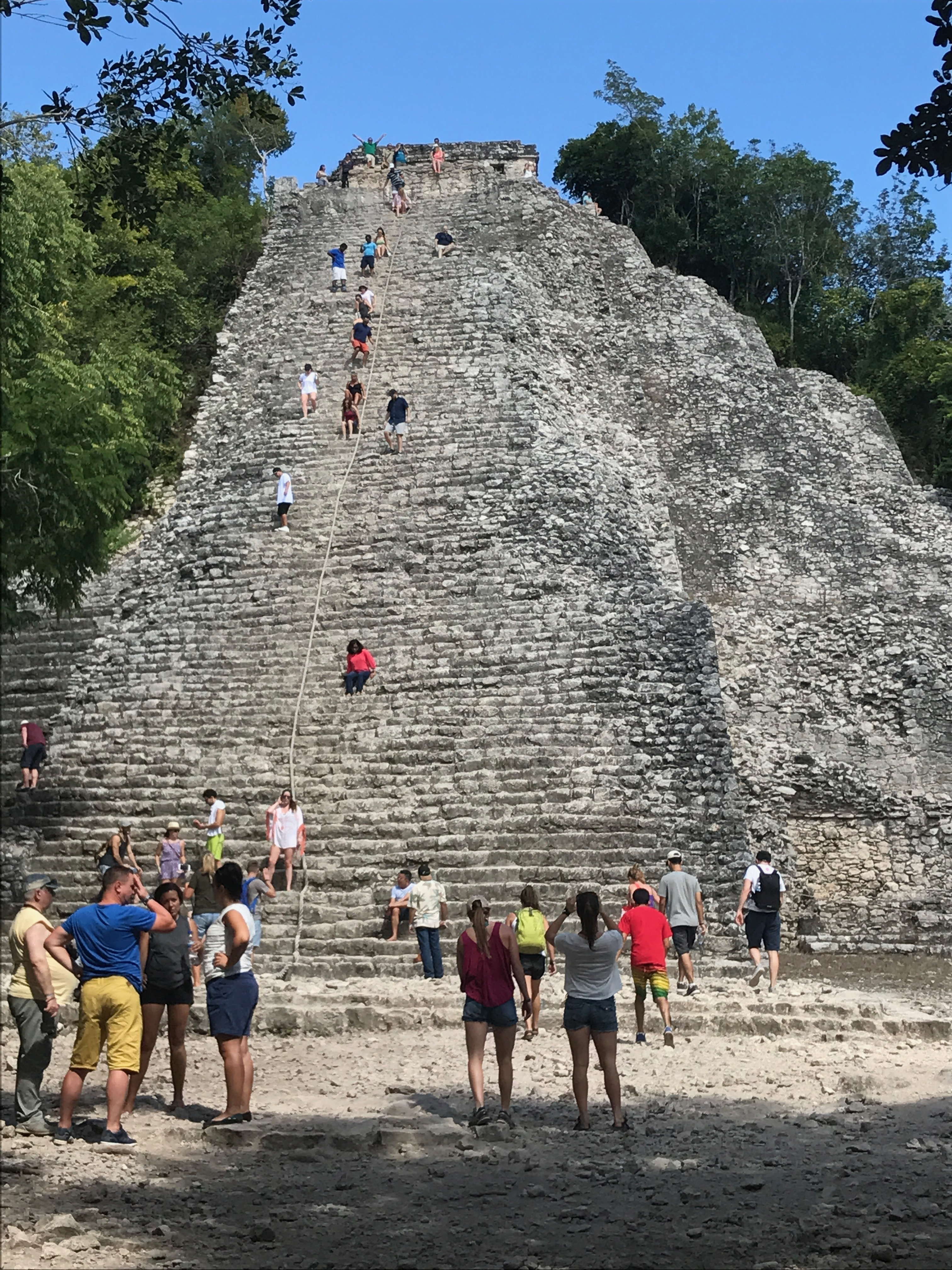 Exploring the Ancient Mayan Ruins of Coba