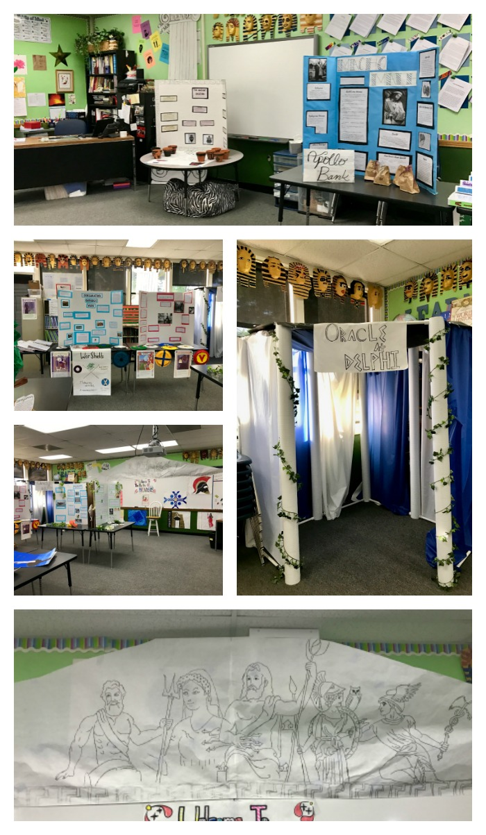 6th Grade Ancient Greece Exhibition