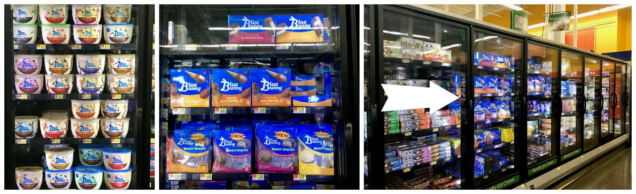 Blue Bunny at Walmart