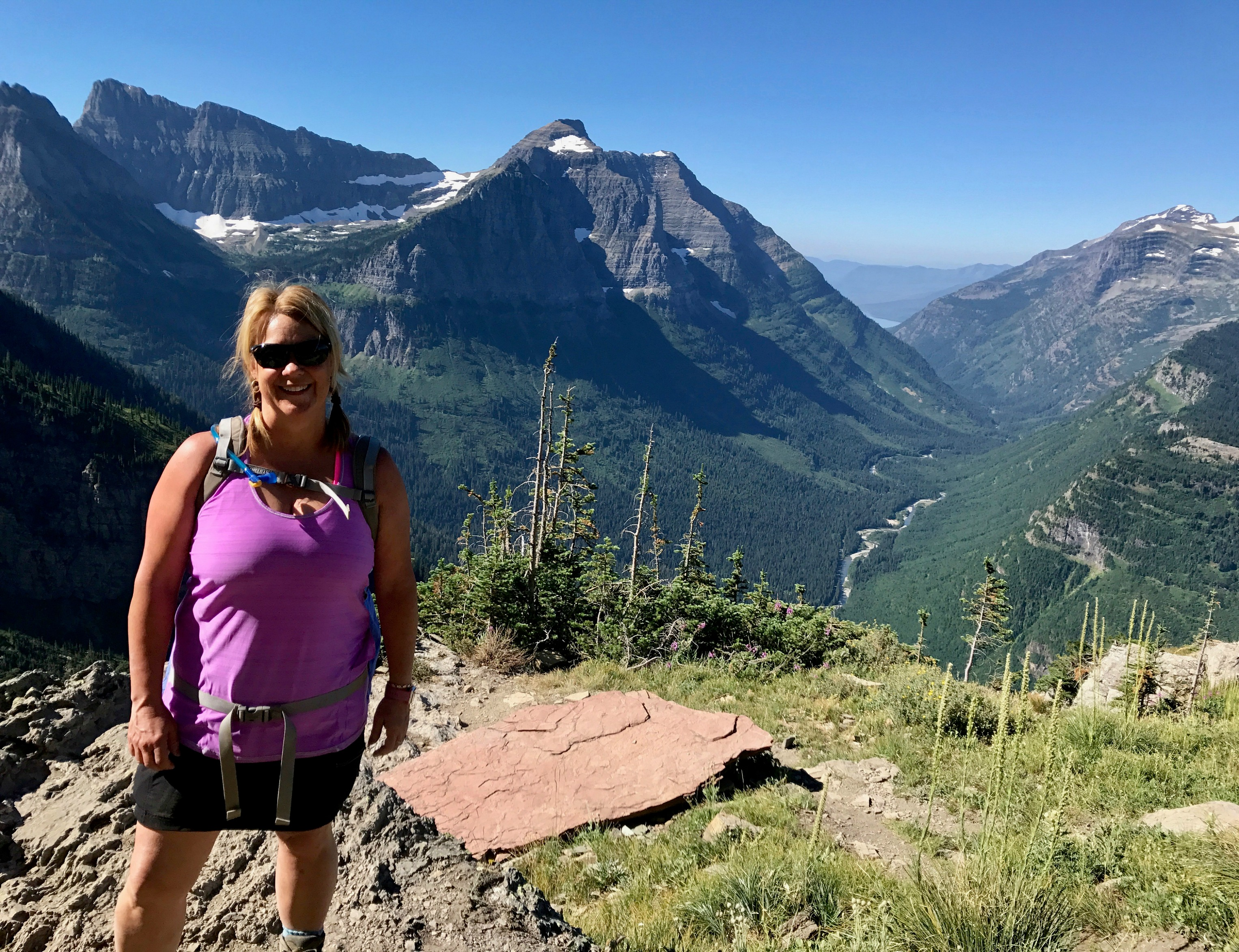 Hiking the Highline Loop in Glacier National Park