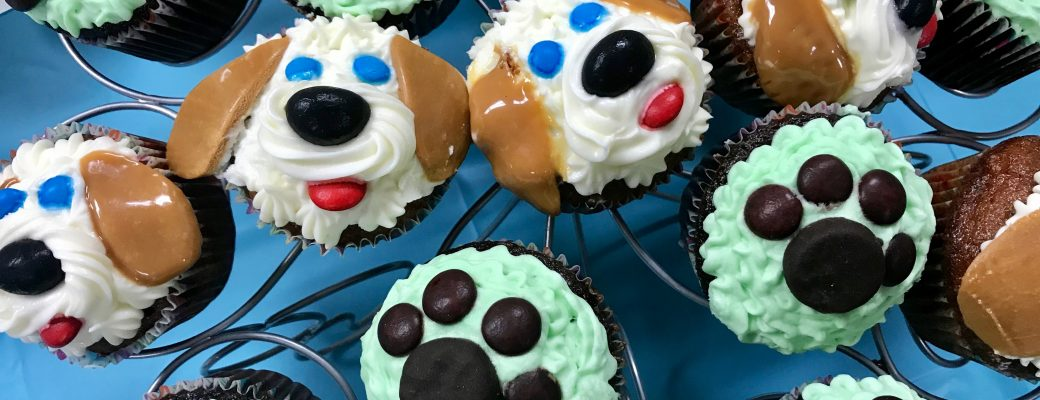 Puppy Dog Cupcakes and Party Ideas