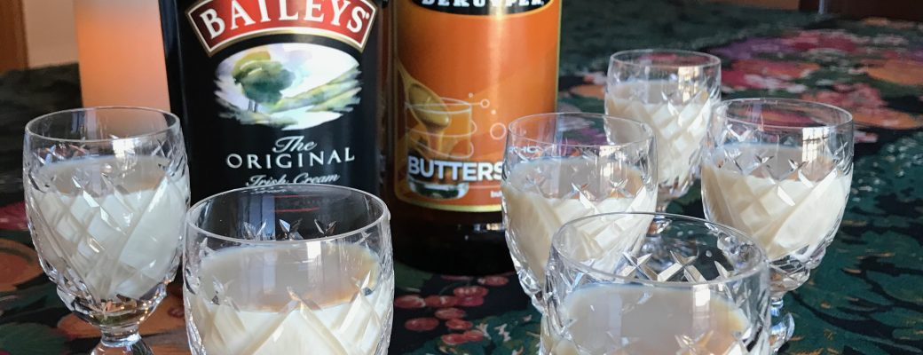 Buttery Nipple Cocktail #SundaySupper