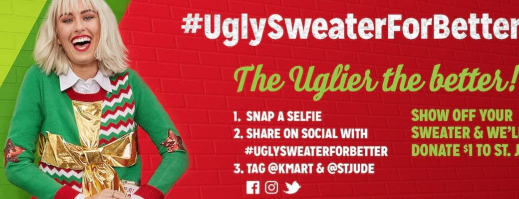 Don Your Ugly Sweater for a Donation to St Jude's Children's Hospital