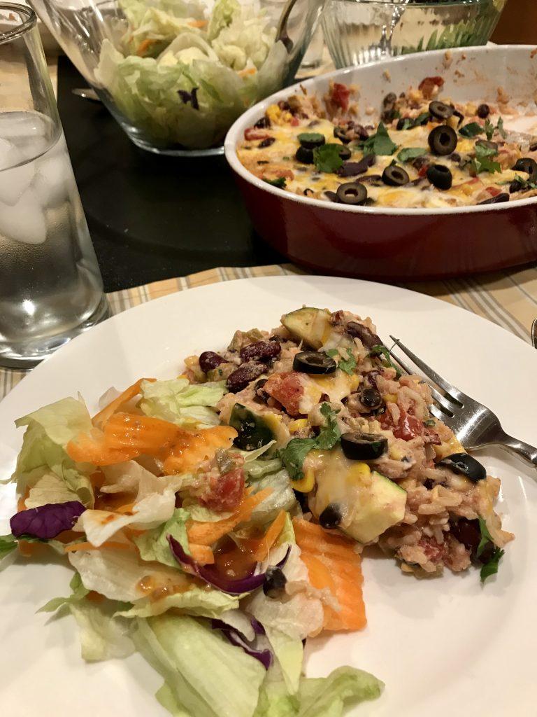 Tex Mex Vegetarian Bake Freestyle Recipe